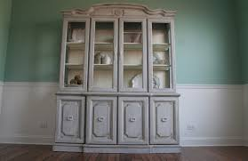 pretty distressed at last the dining hutch reveal has come along