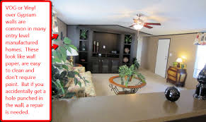 mobile home interior walls how to do a damaged wall repair yourself