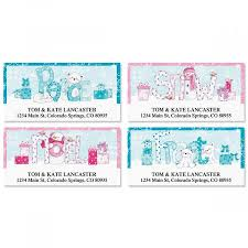 merry messages deluxe address labels current catalog