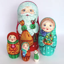 exclusive russian nesting doll 5 pc 6