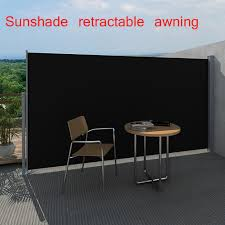 Roll Up Patio Screen by 5 9 U0026 039 X9 8 U0026 039 Sunshade Outdoor Patio Retractable Awning Side