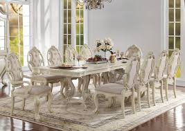antique white dining room firenza antique white dining table set