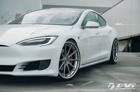 white tesla model s adv10 track spec sl concave wheels adv 1