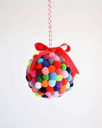 yarn wrapped tree ornaments ornament