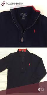 polo ralph lauren half zip pullover navy blue half zip pullover