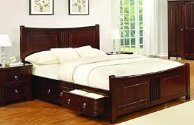 Mahogany Bed Frame Sweet Dreams Mahogany Drawer Bed Frame 180cm King Size 6ft