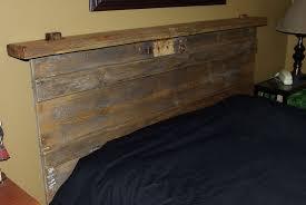 Reclaimed Wood Headboard King Diy Wood Headboard King Size Home Design Ideas