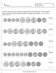 Math Worksheets Generator Counting Coins And Money Worksheets And Printouts