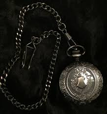 Black And White Rebel Flag Confederate Flag Pocket Watch Confederate Shop