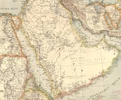 arabia map war map of palestine and arabia digital library