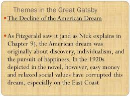 four symbols in the great gatsby the great gatsby project ppt video online download