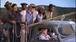 hatari jeep opening rhino hunt from howard hawks u0027