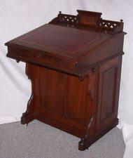 Antique Slant Top Desk Worth Davenport Desk Ebay