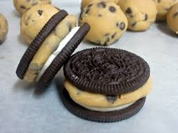 chocolate chip cookie dough stuffed oreos love to be in the kitchen