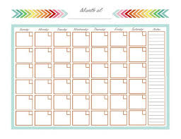 25 unique monthly calendar template ideas on pinterest blank