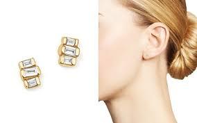 gold stud earrings 14k gold stud earrings bloomingdale s