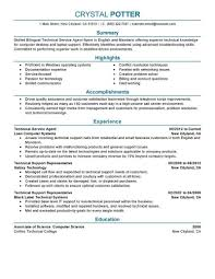 resume writing for computer science