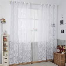 aliexpress com buy american style yarn curtains solid color