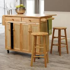 movable kitchen island with breakfast bar rolling island cart walmart carts kitchen movable with seating table