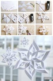 best 25 paper snowflake template ideas on paper