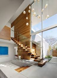 Crescent Stairs by Crescent Drive Home By Ehrlich Yanai Rhee Chaney Architects