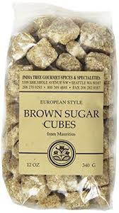 Sugar Cubes Where To Buy India Tree Unrefined Brown Sugar Cubes 12oz Bag Ebay