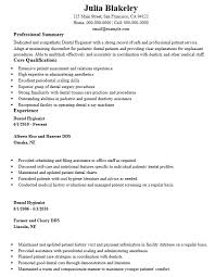 16 free sample dental hygienist resume u2013 sample resumes 2016