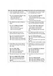 english teaching worksheets metaphor
