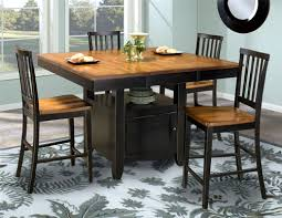 counter height table with storage arlington 54 x 36 54 bfly gathering counter height storage table