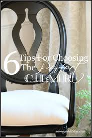 Perfect Reading Chair by 6 Tips For Choosing The Perfect Chairs