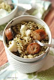 pesto pasta with sausage and ricotta julie u0027s eats u0026 treats