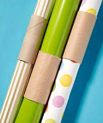 wrapping paper holder storage new uses for things real simple