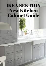 IKEA SEKTION New Kitchen Cabinet Guide Photos Prices Sizes And - New kitchen cabinets