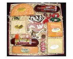 Cheese Gift Box Badger Cheese And Sausage Gift Box