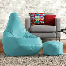 Cool Bean Bag Chairs Buy High Back Pod With Free Footstool Beanbag Bazaar