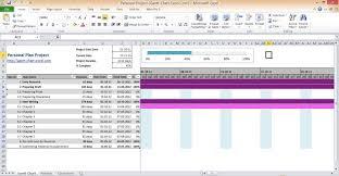 Excel 2010 Project Plan Template Http Gantt Chart Excel Com Gantt Chart Excel 2010 Personal