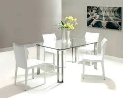 small glass kitchen table small glass dining table and chairs lesdonheures com