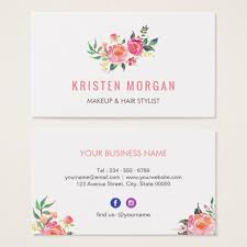 modern watercolor floral instagram icon business card