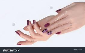 nail design manicure nail paint beautiful stock photo 391776142
