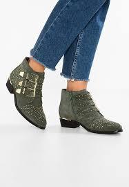 zalando womens boots uk bronx cowboy biker boots vintage green zalando co uk