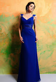 royal blue chiffon bridesmaid dresses empire royal blue chiffon bridesmaid dresses wholesale v neck 2016