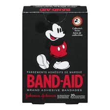 mickey mouse bandage strips band aid brand adhesive bandages