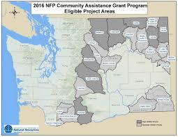 Washington State Geologic Map by Community Wildfire Protection Wa Dnr