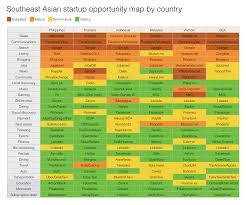 South East Asia Map An Opportunity Map By Country For Startups In Southeast Asia