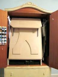 Jewelry Armoire Over The Door Mirror Cabinet by Sewing Cabinet Armoire U2013 Blackcrow Us