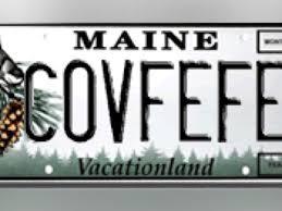 Vanity Plate Someone Already Claimed Maine Vanity Plate U0027covfefe U0027 Wtsp Com