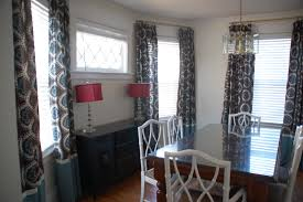 dining room curtains ideas inspiring dining room curtains patterned or plain ruchi designs