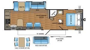 jayco jay flight 29rks travel trailer floor plan