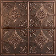 Used Tin Ceiling Tiles For Sale by Cathedral Antique Bronze Faux Tin Ceiling Tiles