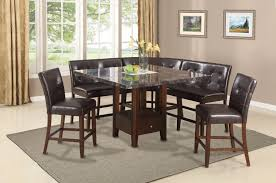acme danville counter height dining set love chair u0026 corner chair